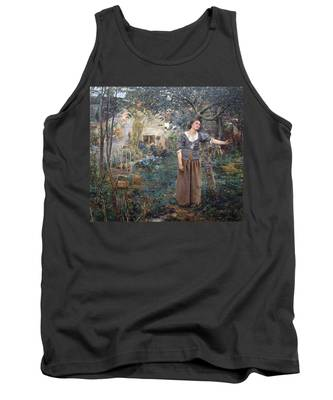 Joan Of Arc Tank Top