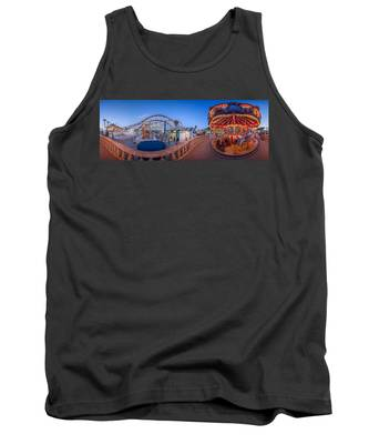 Panorama Giant Dipper Goes 360 Round And Round Tank Top