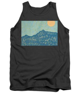 Picuris Mountains Original Painting Tank Top