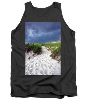 Sand Dune Under Storm Tank Top