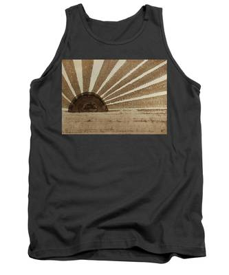 Sepia Sunset Original Painting Tank Top
