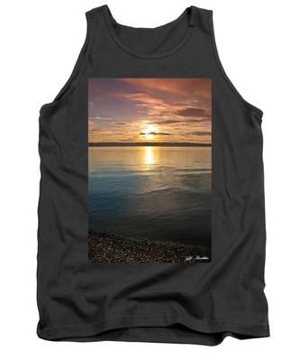 Sunset Over Puget Sound Tank Top