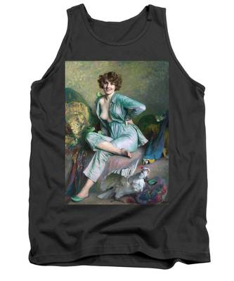 The Familiar Birds Tank Top