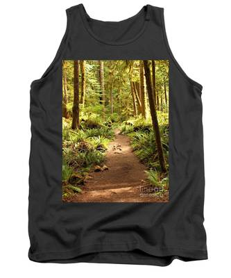 Trail Through The Rainforest Tank Top