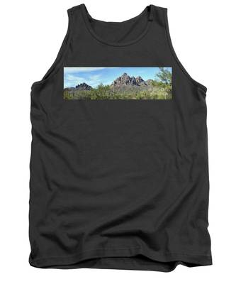 Ragged Top Mountain Panorama Tank Top