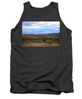 Stormy Wyoming Sunrise I Tank Top