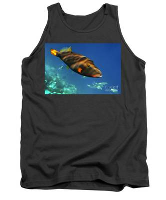 Tank Top featuring the photograph Maldives by Juergen Held