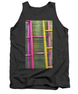 Tank Top featuring the photograph Upwardly Mobile by Skip Hunt