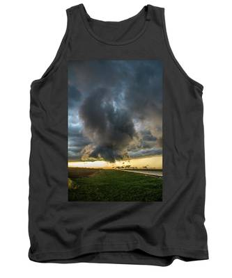 Tank Top featuring the photograph 3rd Storm Chase Of 2018 050 by NebraskaSC