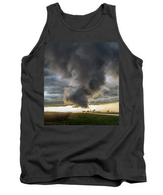 Tank Top featuring the photograph 3rd Storm Chase Of 2018 051 by NebraskaSC