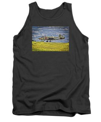 B-25 Landing Akron/canton Ohio Tank Top