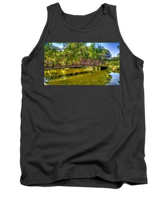 Bridge Over Delaware Canal At Colonial Park Tank Top