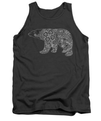 Celtic Polar Bear Tank Top