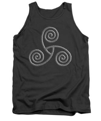 Celtic Triple Spiral Tank Top