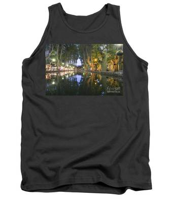 Tank Top featuring the photograph Cucuron Village Provence  by Juergen Held