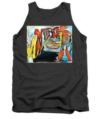Death To The Titans Tank Top