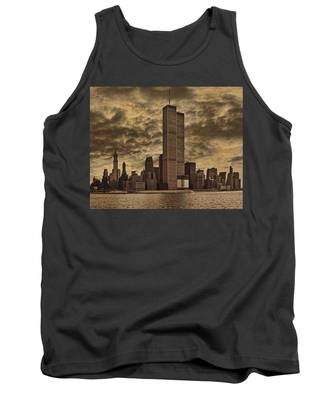 Downtown Manhattan Circa Nineteen Seventy Nine  Tank Top