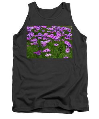Dreaming Of Purple Daisies  Tank Top
