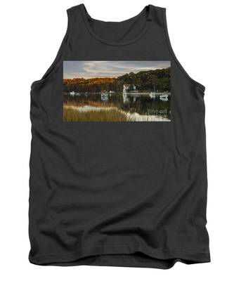 Fall Sunset In Centerport  Tank Top