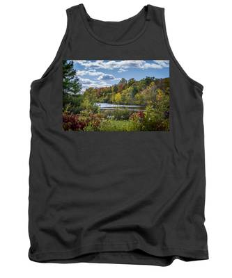 Fall Time On The Lake Tank Top