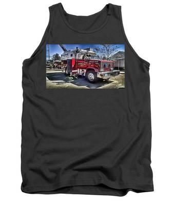 Firemen Honor And Sacrifice #1 Tank Top