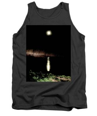 Full Moon Over Piermont Creek Tank Top