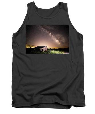 Galaxy In Star Valley Tank Top