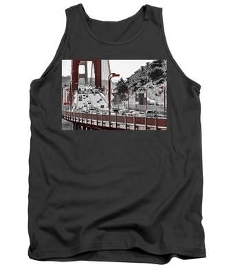 Golden Gate Bridge Street View Tank Top