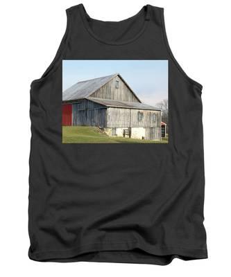 Rustic Barn Tank Top