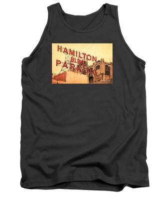 Hamilton Bldg Parking Sign Tank Top