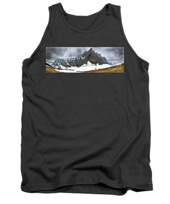 Hiking In The Alps Tank Top