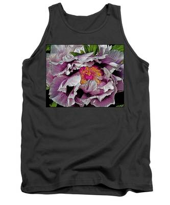 In The Eye Of The Peony Tank Top