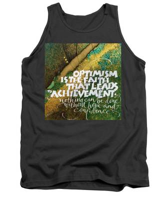 Inspirational Saying Optimism Tank Top