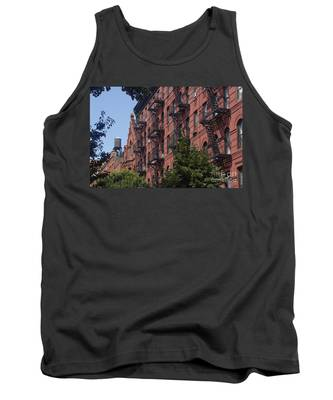 Tank Top featuring the photograph New York Soho by Juergen Held