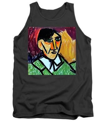 Pablo Picasso 1907 Self-portrait Remake Tank Top