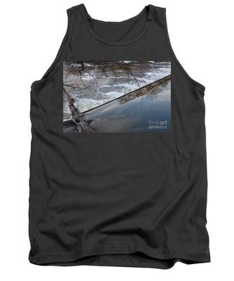 Pompton Spillway From Above Tank Top