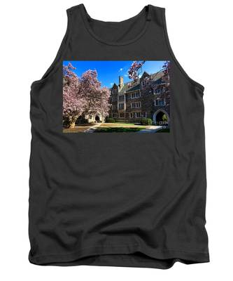 Princeton University Pyne Hall Courtyard Tank Top