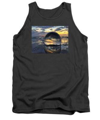 Reflections Of The Crystal Ball Tank Top