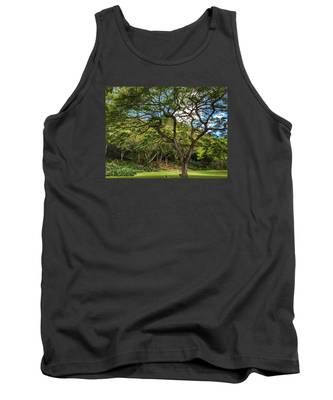 Relaxing Under The Tree Tank Top