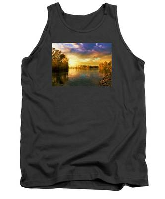 River Sunset Tank Top