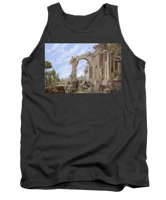 Roman Arch Tank Tops