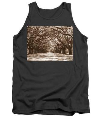 Savannah Sepia - Glorious Oaks Tank Top