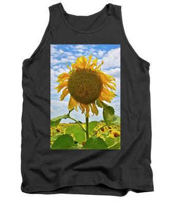 Tank Top featuring the photograph Sister Golden Hair by Skip Hunt
