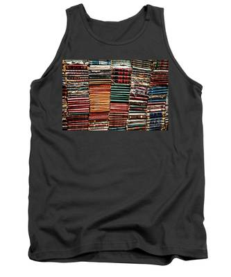 Stacks Of Books Tank Top