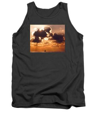 Sun Peek Sailboat Tank Top