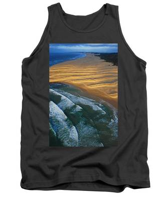 Tank Top featuring the photograph Sun Rise Coast  by Skip Hunt
