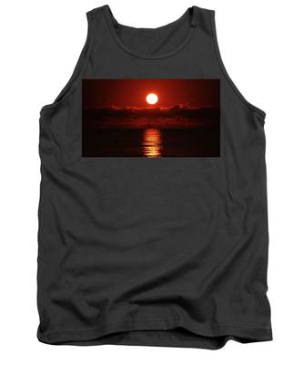 Sunrise Spotlight Delray Beach Florida Tank Top