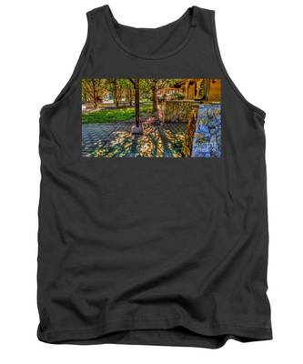 Sunset At Community Park In Montville, New Jersey Tank Top