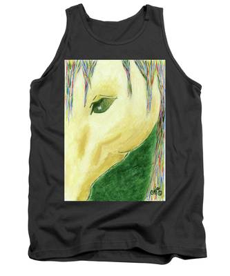 The Gold Horse Tank Top
