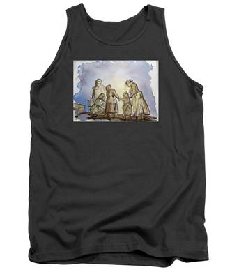 The Greatest Ever Drawing Tank Top